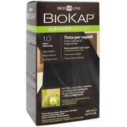 biokap nutricolor - tintura per capelli 1.0 nero naturale