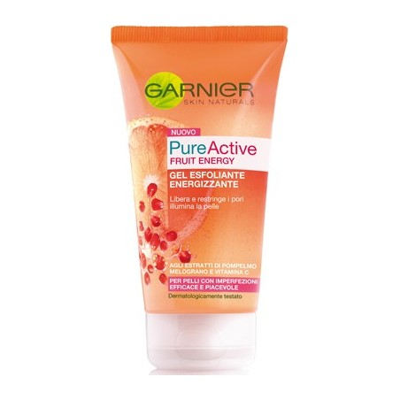 esfoliante energizzante pulizia viso pelli grasse o imperfezioni 150ml