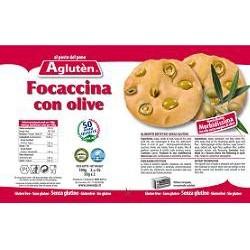 Focaccina Con Olive Per Celiaci Senza Glutine 100 G