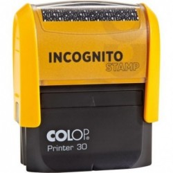 Timbro Incognito Stamp 18x47 mm