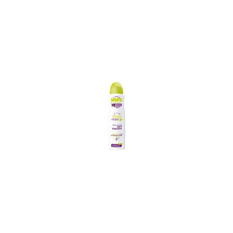 VAPE - Vapederm&Dress Spray repellente antizanzara 150 Ml