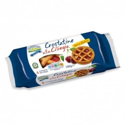 crostatine alla ciliegia senza glutine 180 g
