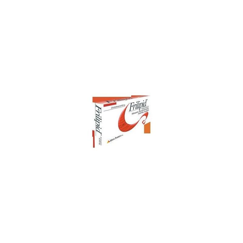 MAYA PHARMA - Frilipid Integratore Alimentare Per Il Controllo Del Colesterolo 20 Compresse