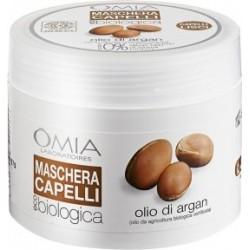maschera capelli biologica con  olio di argan 250 ml