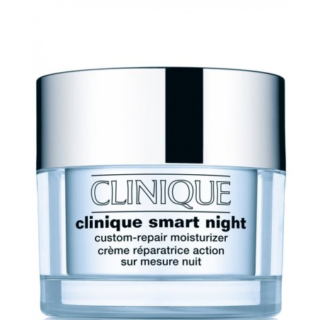 Clinique - smart night custom - repair moisturizer - tipo 1 - pelle da molto arida ad arida 50 ml