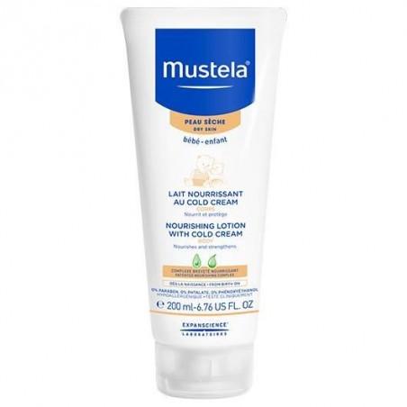 MUSTELA - Bébé - latte corpo nutriente per pelle secca 200 ml