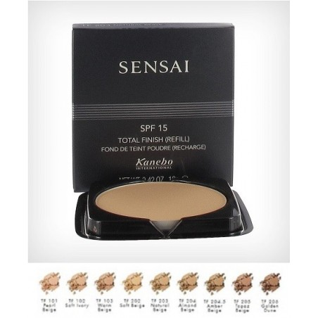 KANEBO - sensai total finish fondotinta ricarica tf 103 warm beige