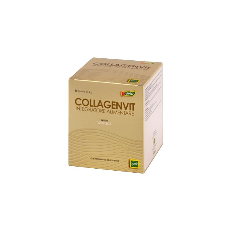 Sofar - Collagenvit 30 bustine gusto vaniglia - integratore alimentare a base di collagene