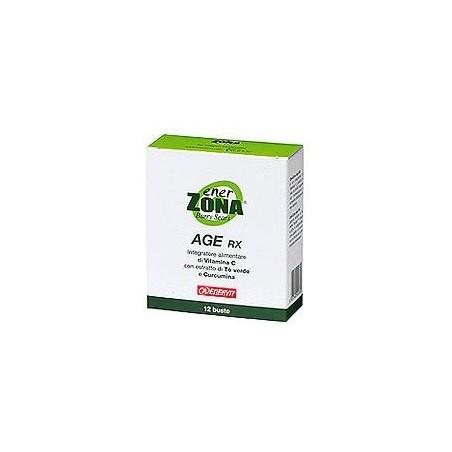 ENERZONA - Age Rx 12 Bustine - Integratore Alimentare A Base Di Tè verde