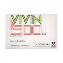 Vivin 500 mg - analgesico antipiretico 20 compresse