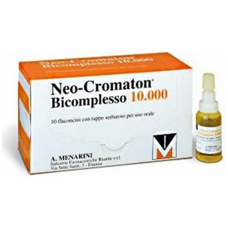MENARINI - Neocromaton Bicomplesso 10.000 10 flaconcini - per anemia e convalescenza