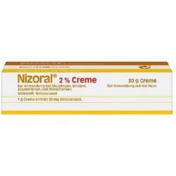 Nizoral 2% Crema - trattamento candida e dermatite seborroica 30 g