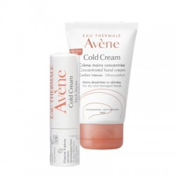 cofanetto cold cream crema mani 50 ml+ stick labbra 4 g