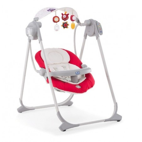 Chicco - Altalena Polly Swing Up  paprika 0m+
