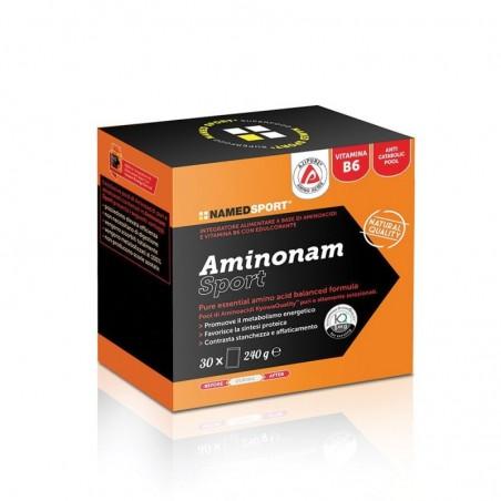 NAMED - aminonam sport - integratore alimentare in polvere per gli sportivi 30 bustine