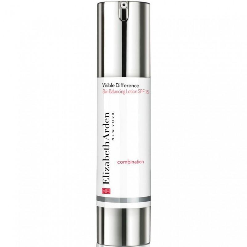 Elizabeth Arden - visible difference skin balancing lotion sunscreen spf 15 fluido viso 50 ml