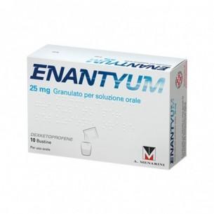 Enantyum 25 mg Granulato Per Soluzione Orale 10 bustine - analgesico
