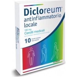Dicloreum Antinfiammatorio Locale - 10 cerotti medicati 180 mg