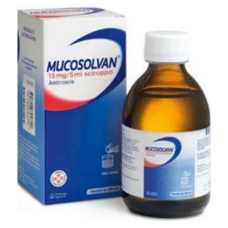 BOEHRINGER INGELHEIM - Mucosolvan 15 mg/5 ml ambroxolo - Sciroppo mucolitico per tosse grassa 200 ml