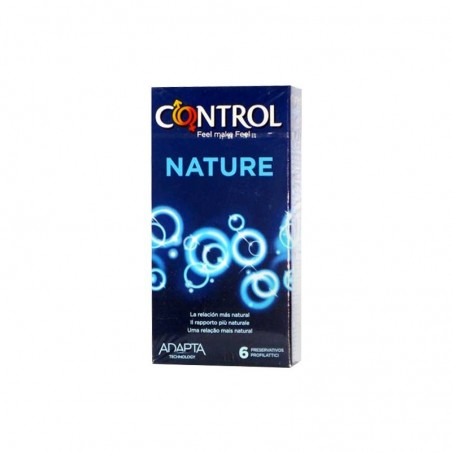 CONTROL - Preservativi Adapta Nature 6 Pezzi