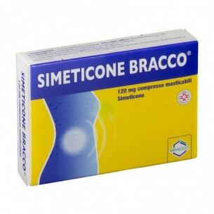 Simeticone 120 mg - contro la formazione di gas intestinale 24 compresse masticabili