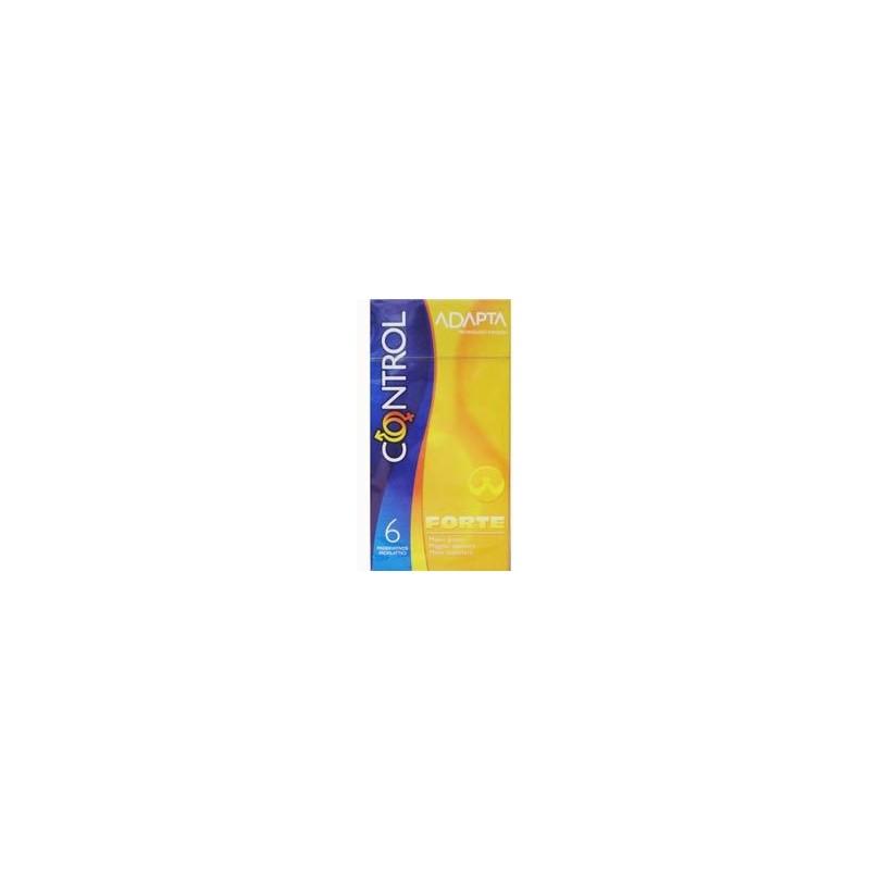 CONTROL - Preservativi Adapta Forte 6 Pezzi