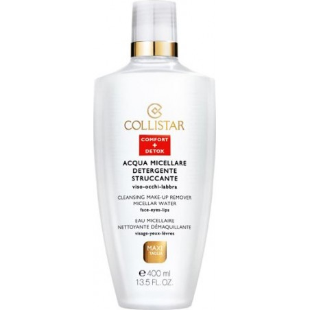 COLLISTAR - detergente struccante acqua micellare viso occhi labbra 400 ml