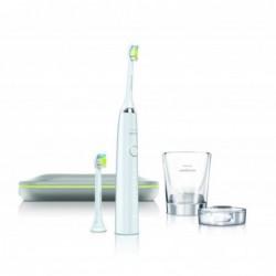 spazzolino elettrico diamond clean con tecnologia sonicare hx9342/02