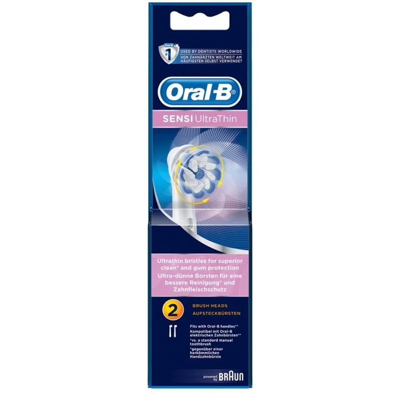 ORAL-B - Testine di ricambio per spazzolino elettrico  Sensi Clean