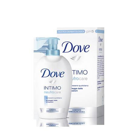 DOVE - detergente intimo sapone liquido neutro care 250 ml