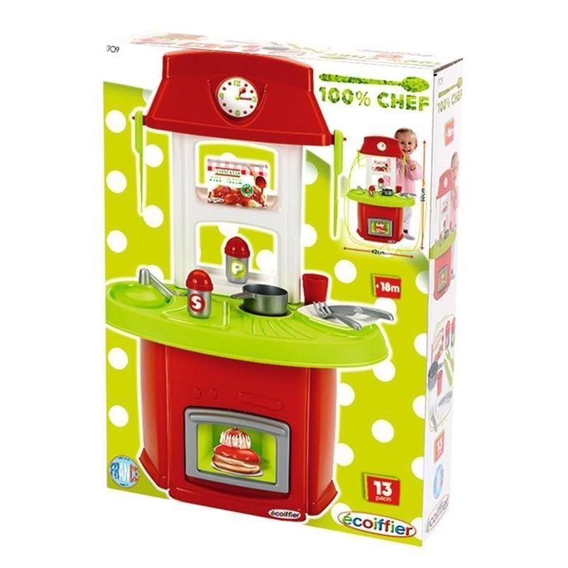 ECOIFFIER - Baby chef  Cucina con 13 accessori