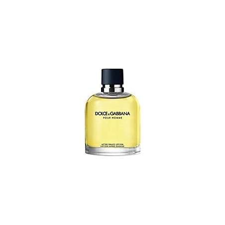 DOLCE&GABBANA - pour homme - after shave 125 ml