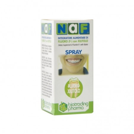 BIOTRADING - Naf - Spray Orale Anti-Carie 20 Ml