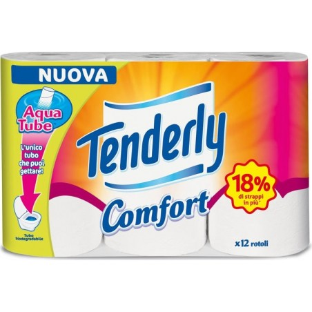 TENDERLY - carta igienica comfort 12 pz