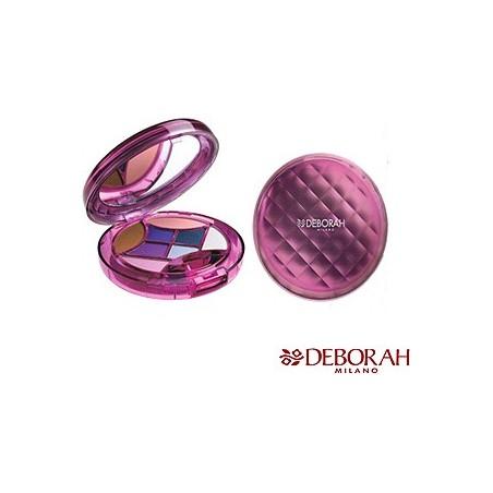 trousse dream mix diamtero 12 cm contiene: 6 ombretti 1 fard 1 terra 1 applicatore 1 specchio