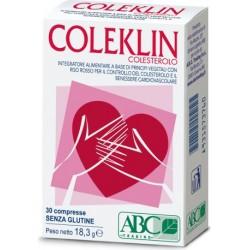 coleklin colesterolo 30 compresse - integratore per il benessere cardiovascolare