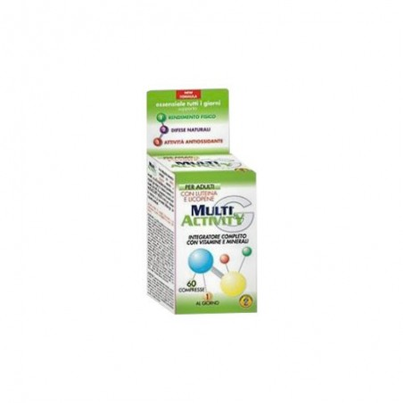 CHEMIST S RESEARCH - multiactivity 60cpr - integratore di vitamine per adulti