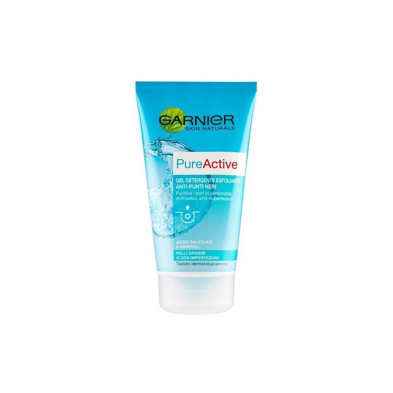 GARNIER - pure active gel detergente purificante anti punti neri 150 ml