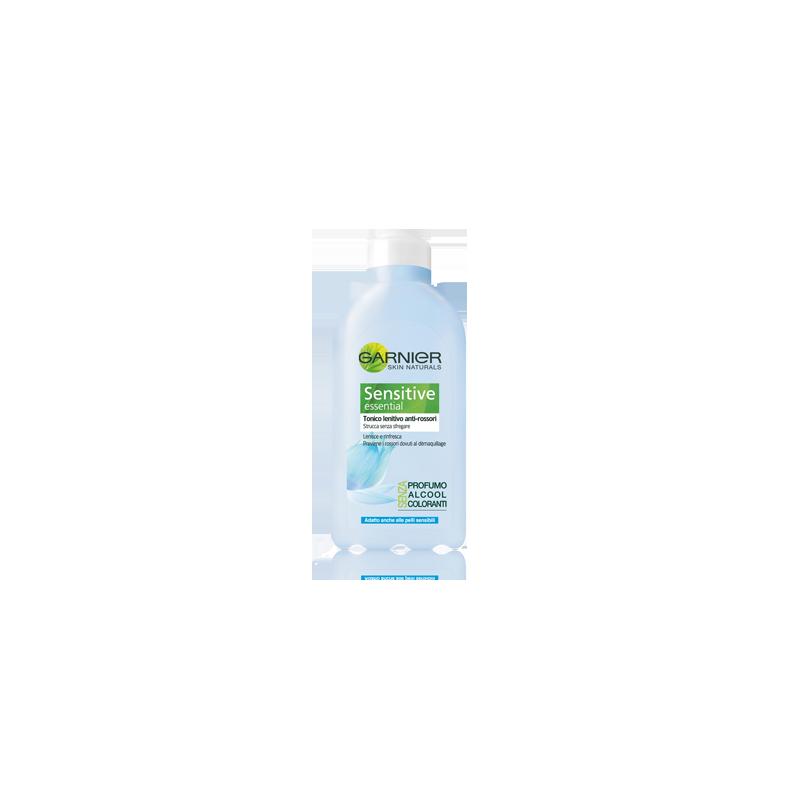 GARNIER - tonico lenitivo anti rossori sensitive essential anche per pelli sensibili 200 ml