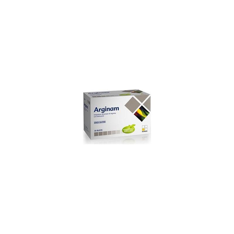NAMED - integratore alimentare arginam a base di arginina 30 bustine