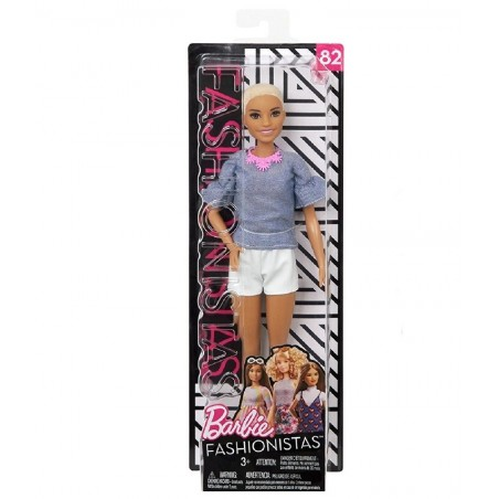 MATTEL - barbie - Bambola Fashionistas 82 Chic in Chambray