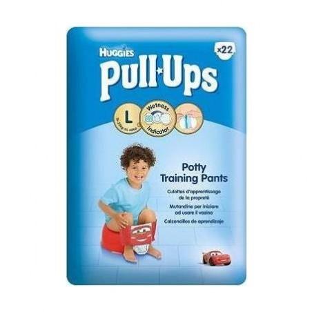 HUGGIES - Pull-Ups - 22 pannolini a mutandina Taglia 6-L