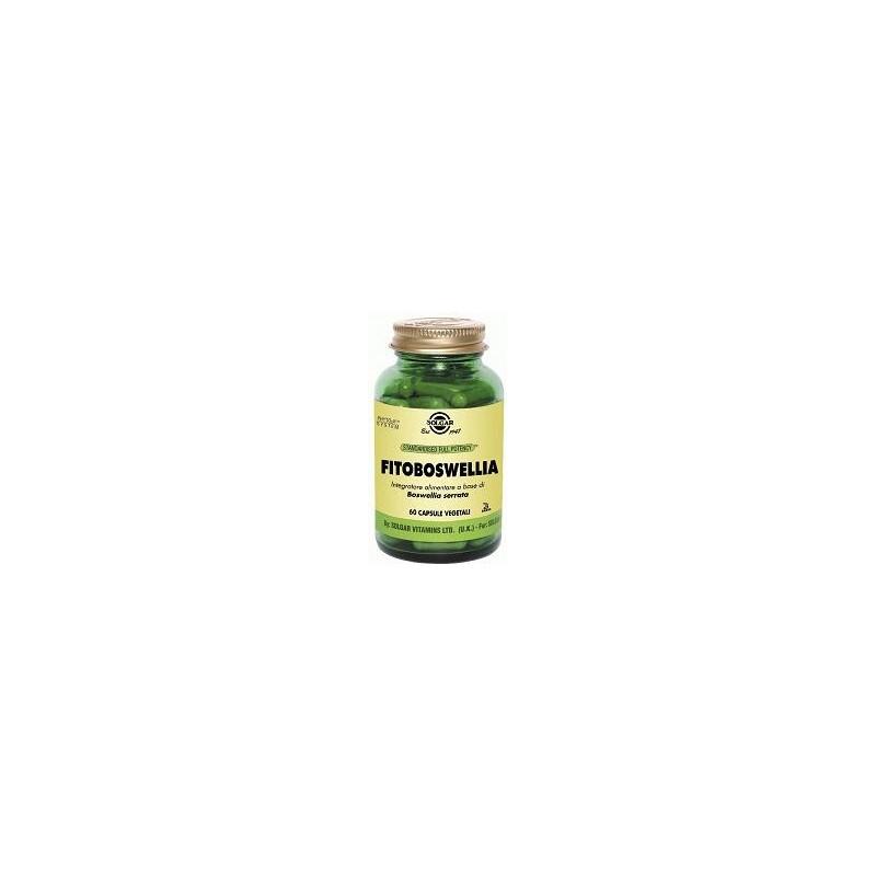 SOLGAR - fitoboswellia 60 capsule vegetali - integratore alimentare per le articolazioni