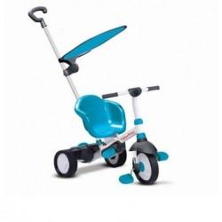 Triciclo Charm Plus 3 In 1 Con Maniglione colore azzurro