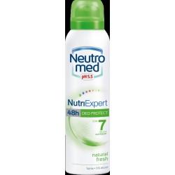 nutri expert - deodorante 48 h natural fresh spray 150 ml