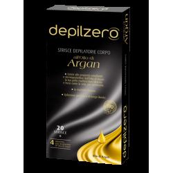 strisce depilatorie per il corpo 20 strisce a strappo + salviette post depilatorie