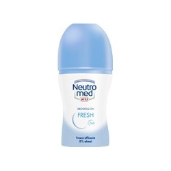 fresh - deodorante senza alcool 24 h roll-on 50 ml