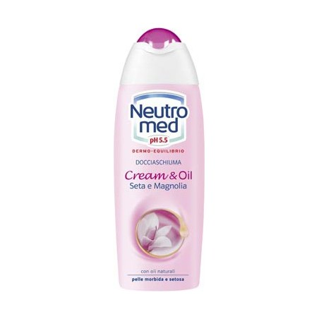 NEUTROMED - Cream & Oil - doccia schiuma nutriente seta e magnolia 250 ml