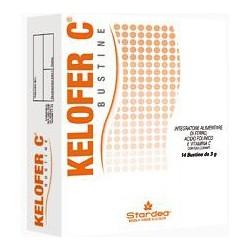 Kelofer C 14 Bustine Da 3 G - Integratore A Base Di Ferro E Vitamine