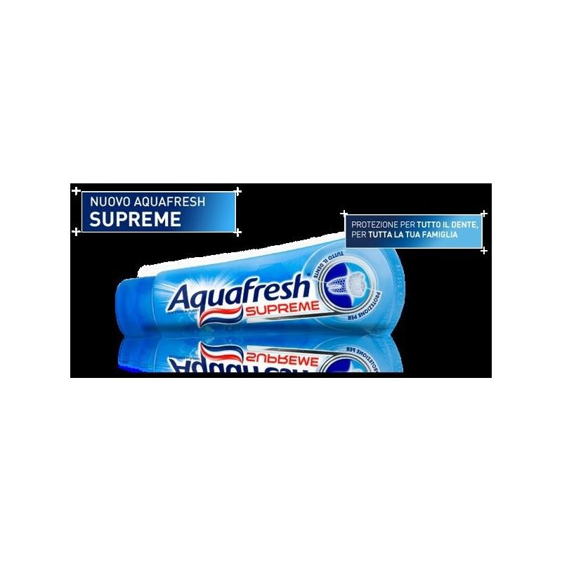 Aquafresh - dentifricio denti supreme 75 ml